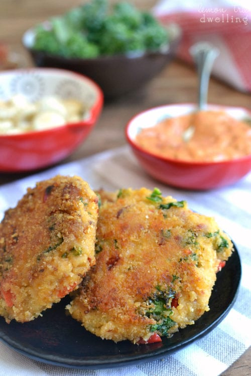 Easy Chicken Crab Cakes  by Lemon Tree Dwelling