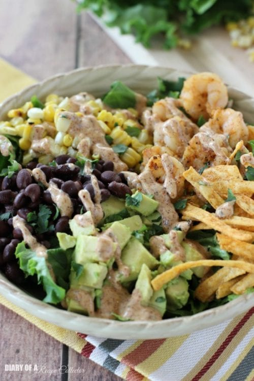 Southwest Shrimp Salad by Diary of a Recipe Collector