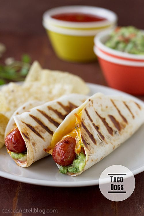 Taco Dogs by Taste and Tell