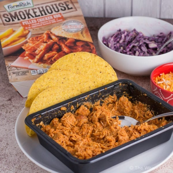 Make dinner easy with Farm Rich Smokehouse BBQ meats. Just heat and serve!