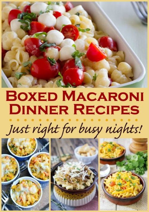 Fun and Creative Boxed Macaroni and Cheese Dinner Recipes!