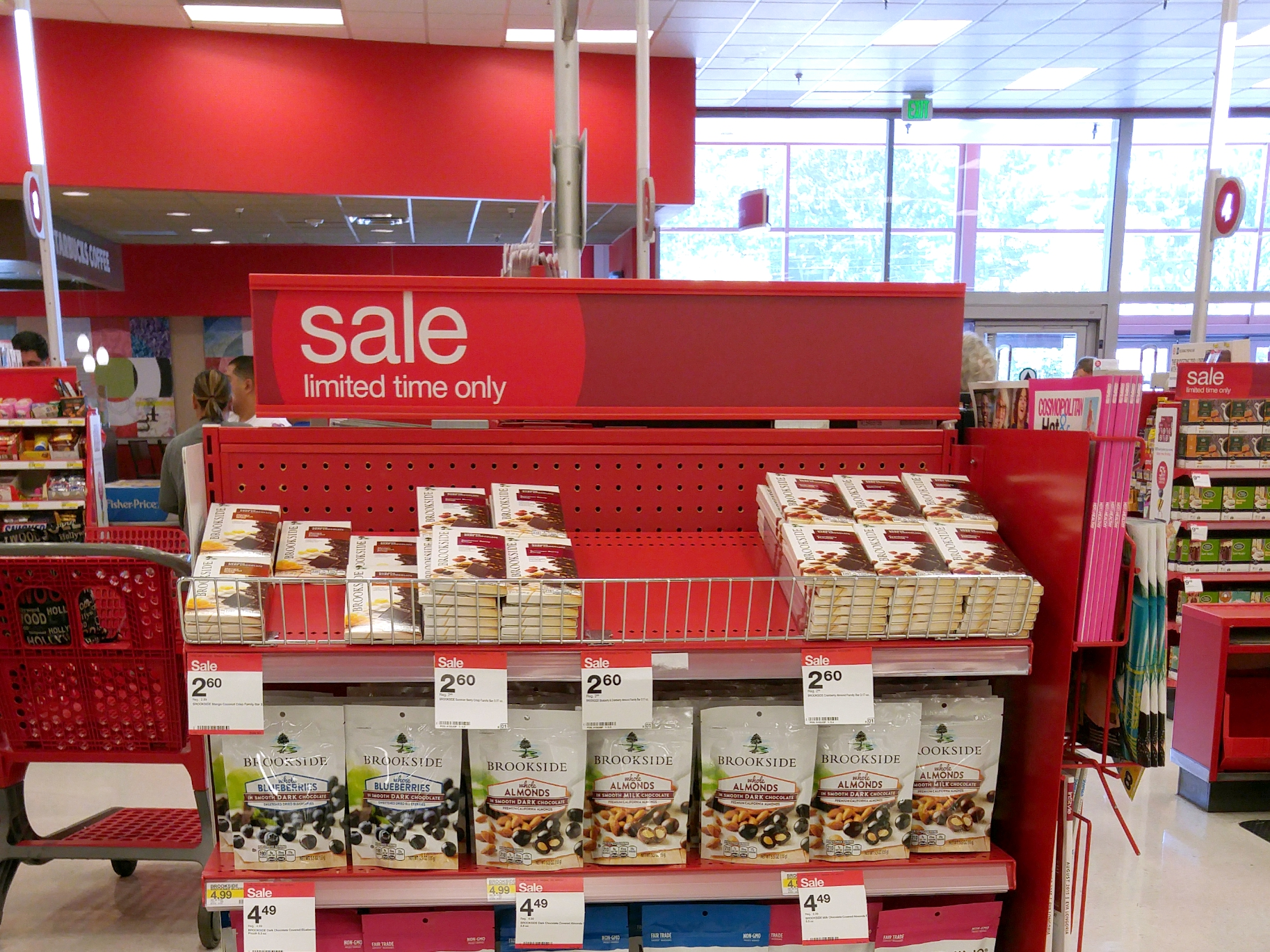 Find new Brookside chocolate flavors at Target!