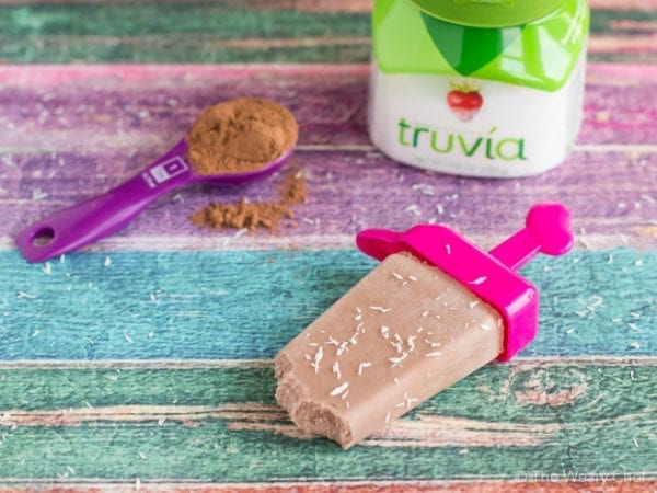 Sweeten your popsicles with Truvia for a guiltless, sugar-free treat!