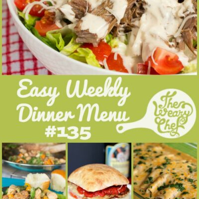 Weekly Dinner Menu #135: Cajun Flavors, Hearty Salads, and More!