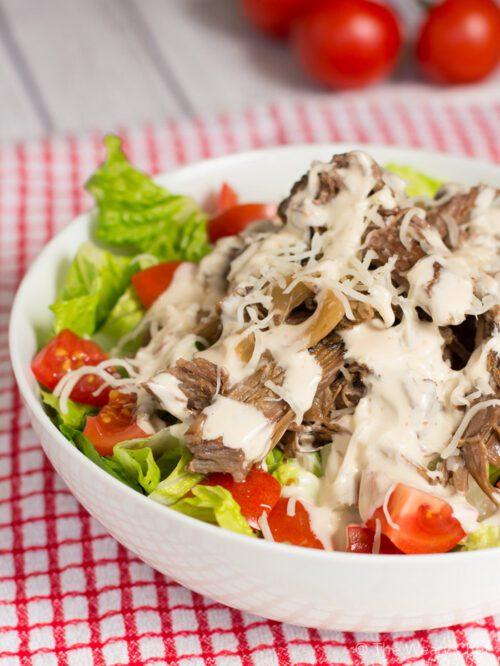 slow cooked beef caesar salad-15