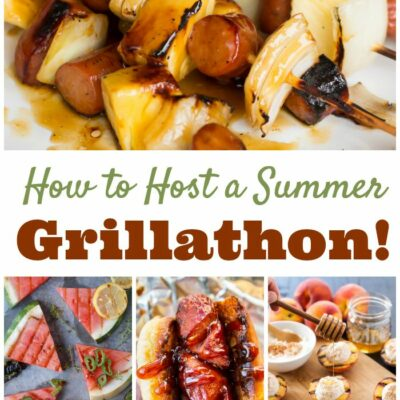 12 Great Grilling Recipes for Hosting Your Own Backyard Grillathon!
