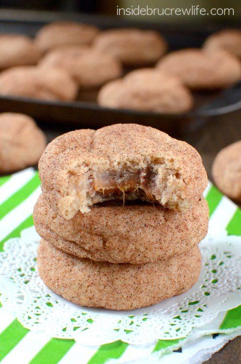 Cinnamon Caramel Cookies by Inside BruCrew Life