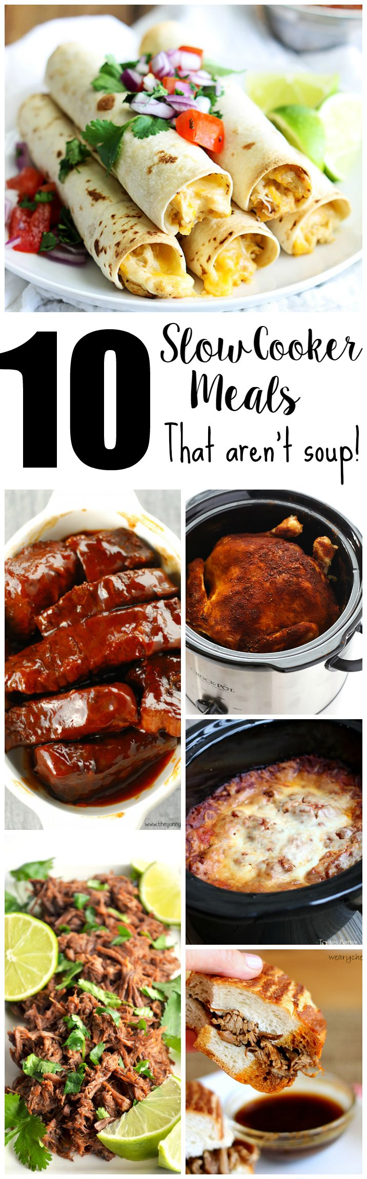 10 Slow Cooker Meals That Aren't Soup!