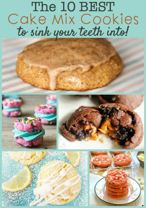 Don't miss this list of amazing cake mix cookie recipes including chocolate caramel, white chocolate lemon, pumpkin chocolate, and so much more!
