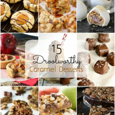 15 Droolworthy Caramel Recipes