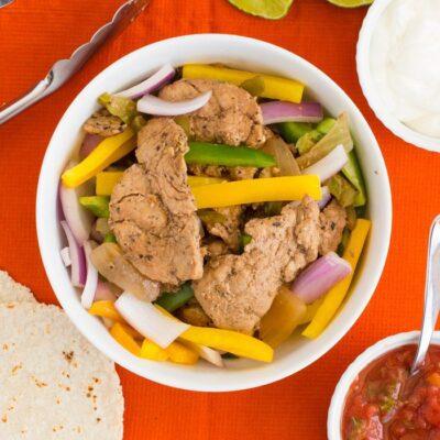 Fast Pork Fajitas Recipe