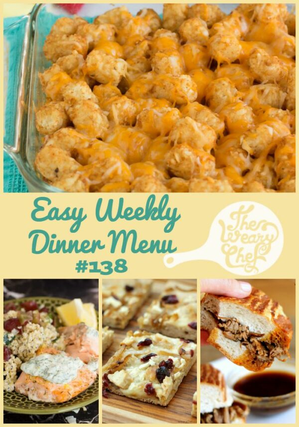 You'll love these easy, comforting meals including Chicken Tater Tot Casserole, French Dip Sandwiches, Ranch Chicken Salad, and lots more!