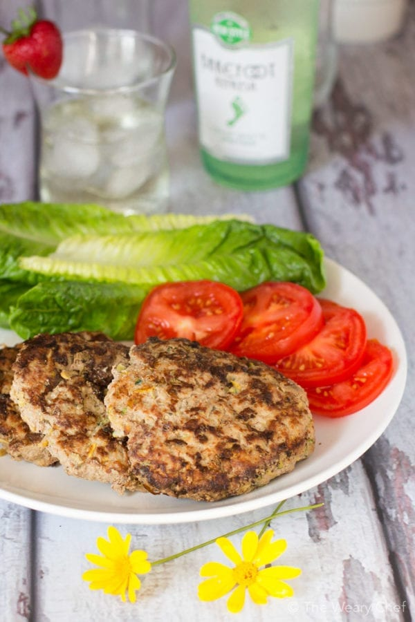 Two kinds of squash add nutrients to these burgers and keep them moist, but you'l never taste they are there!