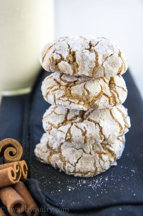 Spice Cool Whip Cookies by I Wash You Dry
