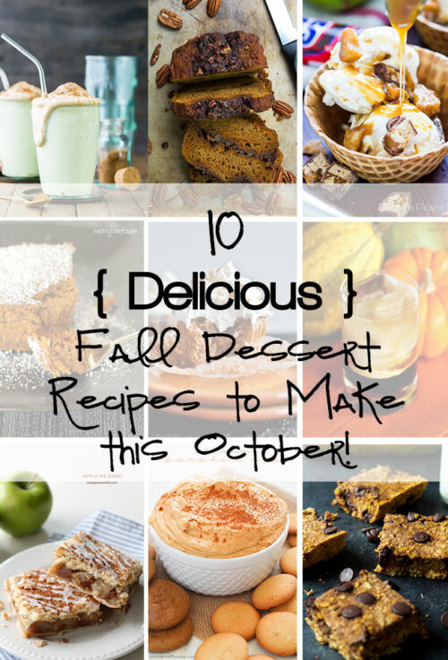 You won't be able to resist these dessert recipes just right for Fall!