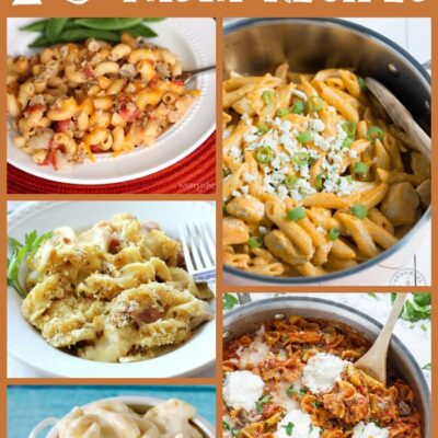 10 One Pot Pasta Recipes