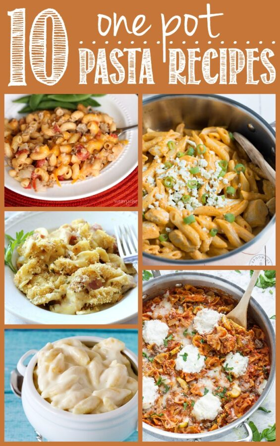 Get dinner on the table fast with these easy one-pot pasta recipes! They're simple, delicious, and make cleanup a breeze!