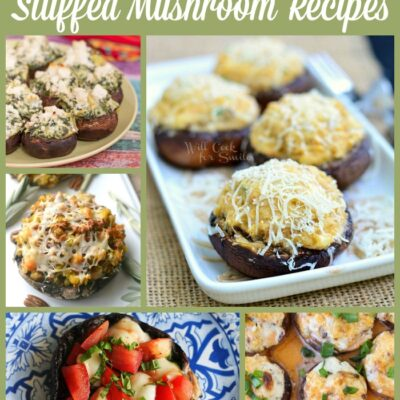 10 Stuffed Mushroom Recipes To Impress Your Guests!