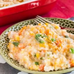 Chicken and Vegetable Quinoa Casserole Recipe