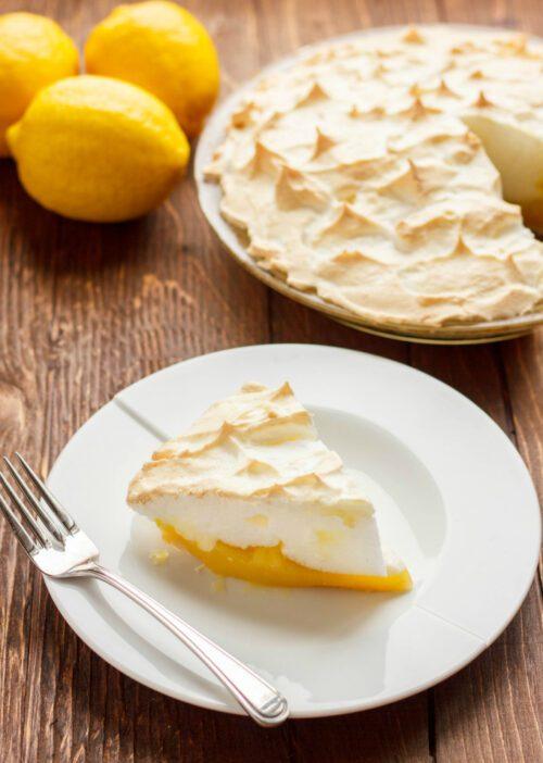 Lemon Meringue Pie - The Cookie Writer