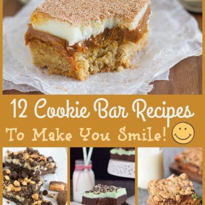 A Dozen Cookie Bar Recipes To Enjoy Today