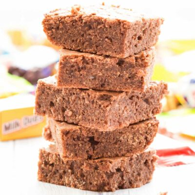 Leftover Candy Brownie Recipe
