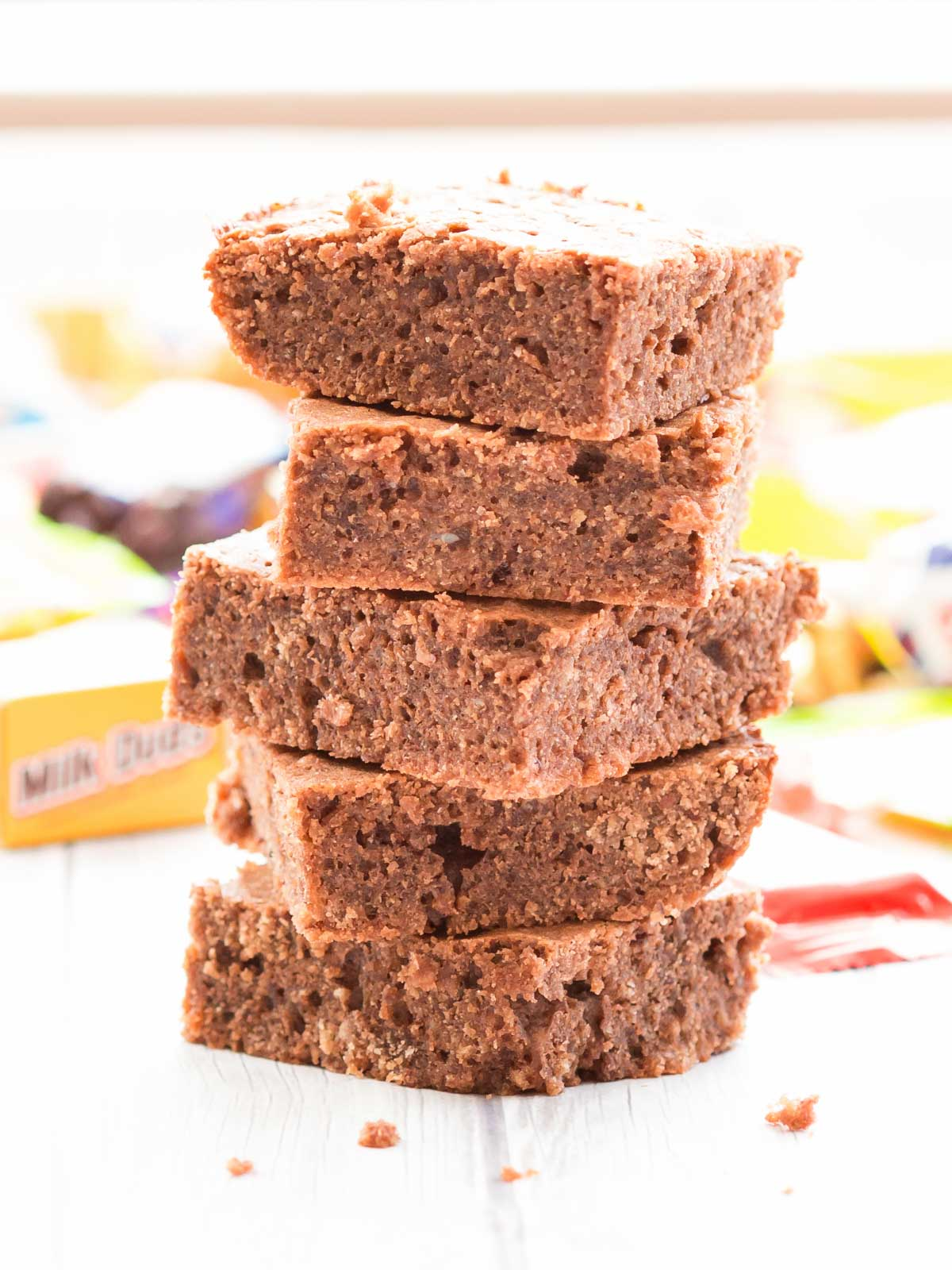 Put your leftover holiday candy to good use in this versatile brownie recipe!