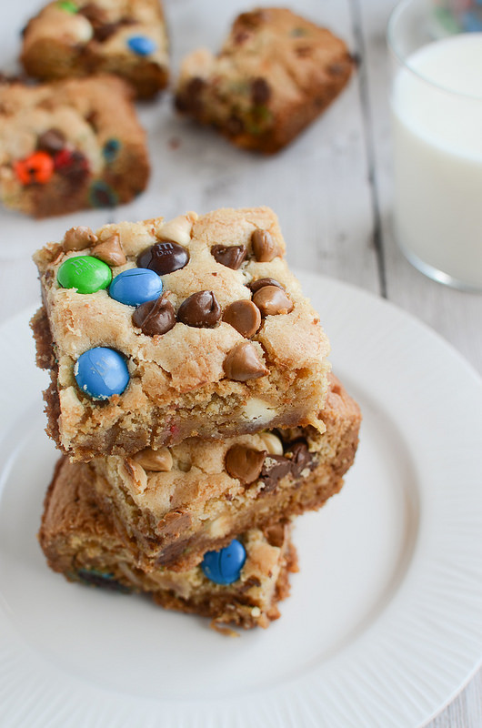 Loaded Cookie Bars by Fake Ginger