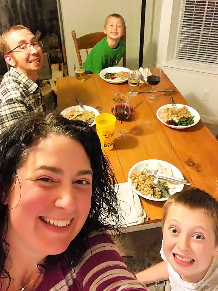 The Weary Chef Thanksgiving 2015 - El Dorado County, California