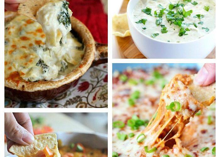 10 Cheesy Dip Recipes