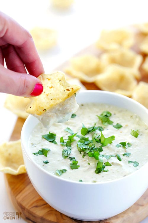 2-Ingredient Queso Dip by Gimme Some Oven