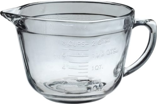 Anchor Hocking 2-Quart Glass Mixing Bowl ($13)