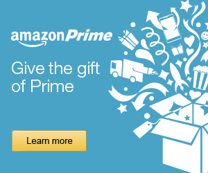 Give the gift of Amazon prime this year!