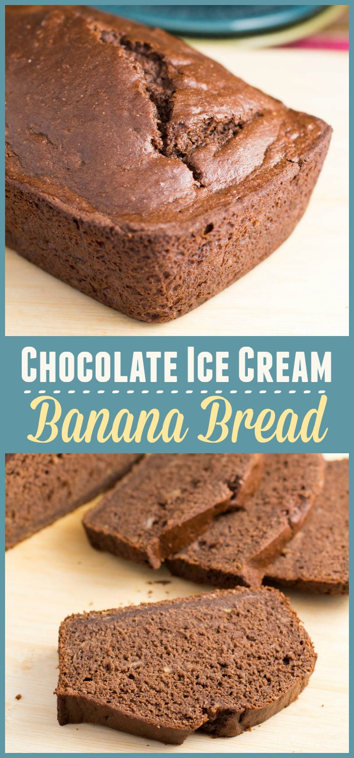 This easy and delicious ice cream banana bread recipe is fun and easy ...