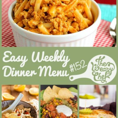 7 Easy Dinner Recipes Week #152: The Road to Recovery
