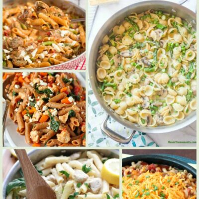 15 Pasta Skillet Recipes for Dinner in a Hurry!