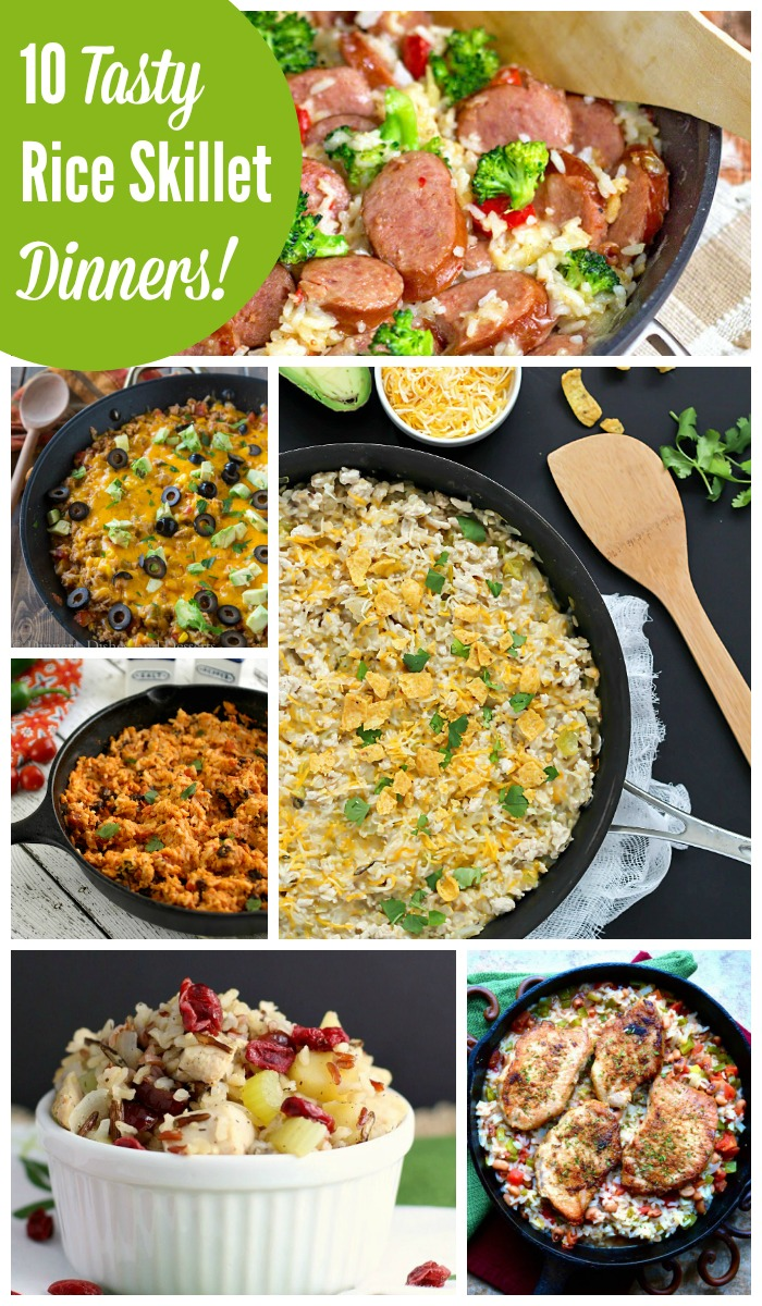 Quick and easy rice skillet dinner recipes the weary chef whether you are in the mood for mexican chinese southern or something else forumfinder Gallery