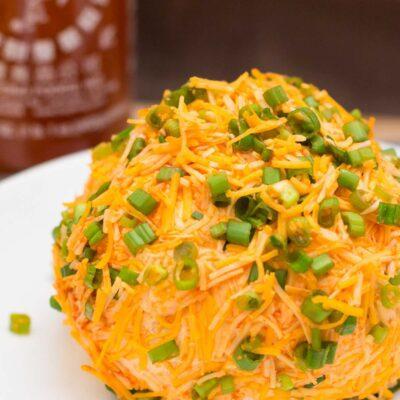 Sriracha Cheddar Cheese Ball Recipe
