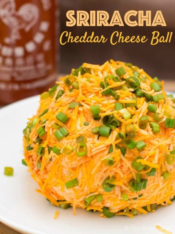 Sriracha Cheese Ball by The Weary Chef