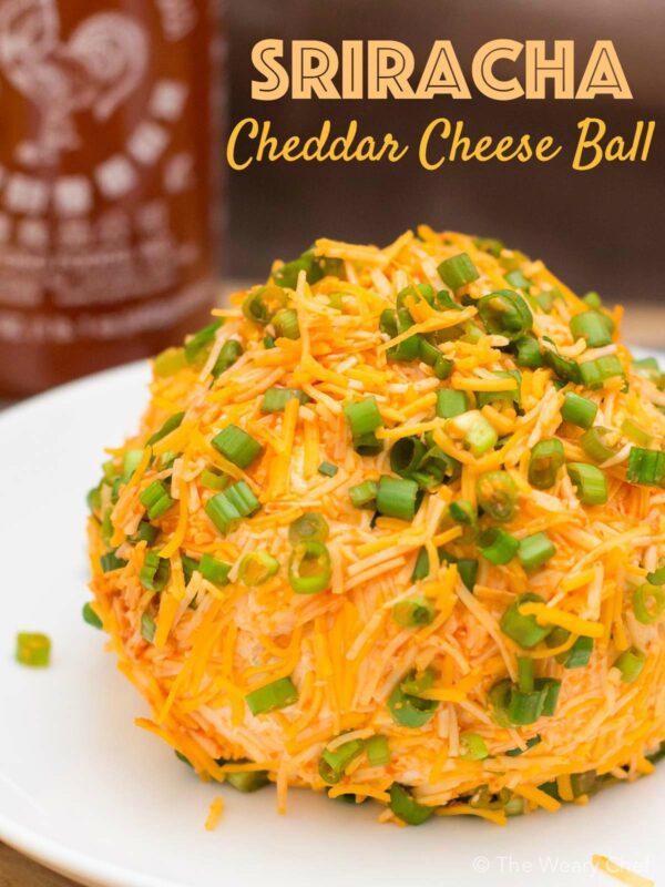 Sriracha Cheese Ball by The Weary Chef
