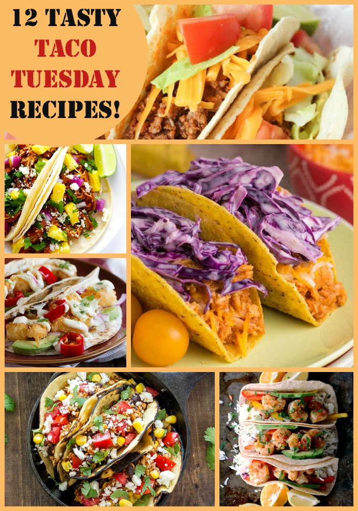 Whether you want quick and easy, vegetarian, classic, or creative tacos for your dinner, you're sure to find the perfect recipe in this fun Taco Tuesday roundup!