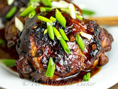 Slow Cooker Chicken Teriyaki by: The Midnight Baker