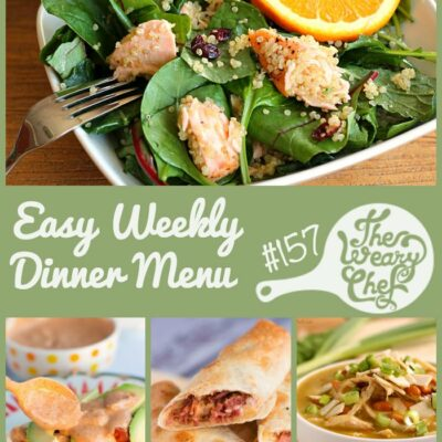 Easy Dinner Recipes Week #157: Tacos, Flautas, Soup, and More!