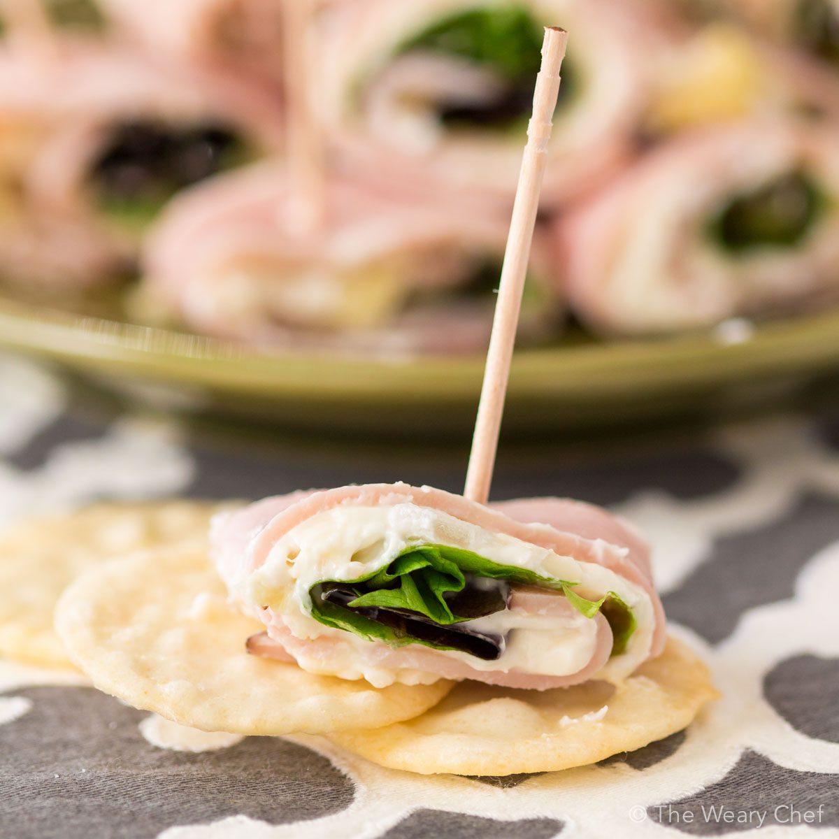 Easy Ham Artichoke Dip Bites: Gluten Free Appetizers
