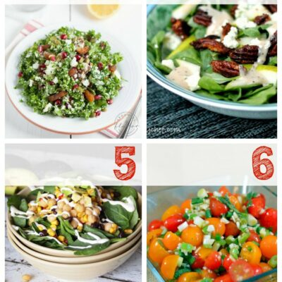 Soup and Salad Lunch Ideas