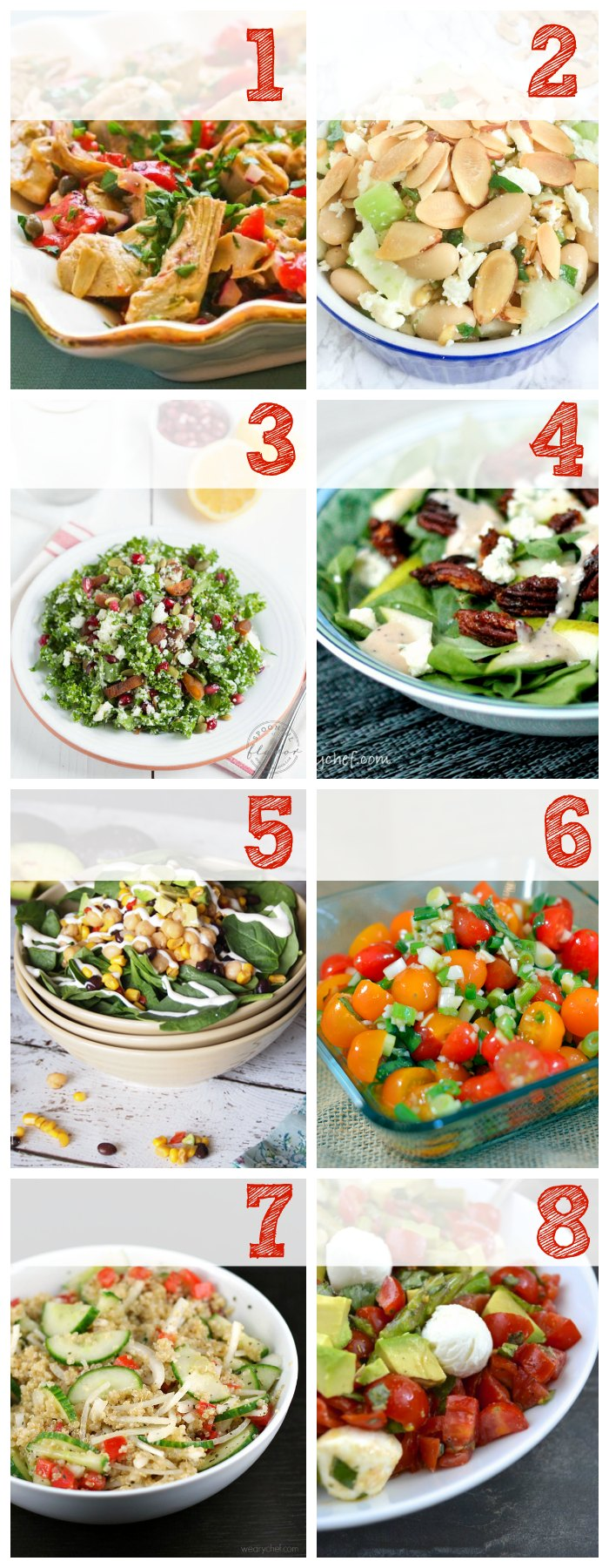 Try these make-ahead salads with a bowl of soup for a wholesome, satisfying lunch!