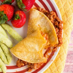 Sloppy Joe Quesadilla Recipe: A Kid Favorite!