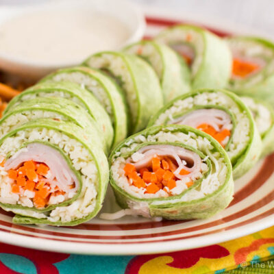 Lunchbox Sushi Sandwich with Turkey and Cheese