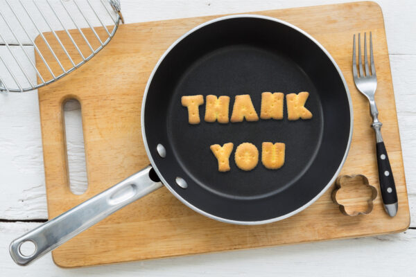 Thank you from The Weary Chef!