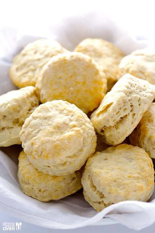3-Ingredient Coconut Oil Biscuits by Gimme Some Oven